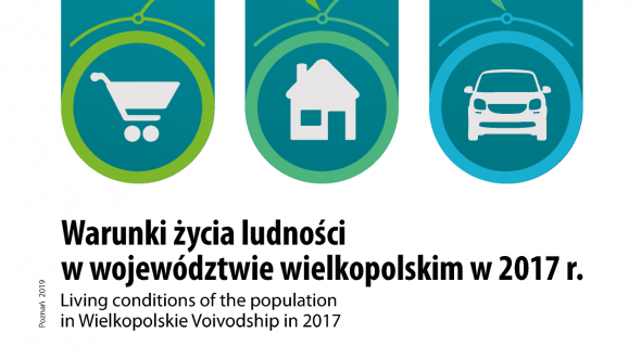 Living conditions of the population in Wielkopolskie Voivodship in 2017