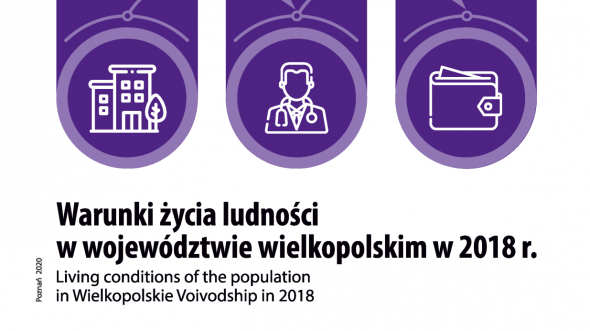 Living conditions of the population in Wielkopolskie Voivodship in 2018