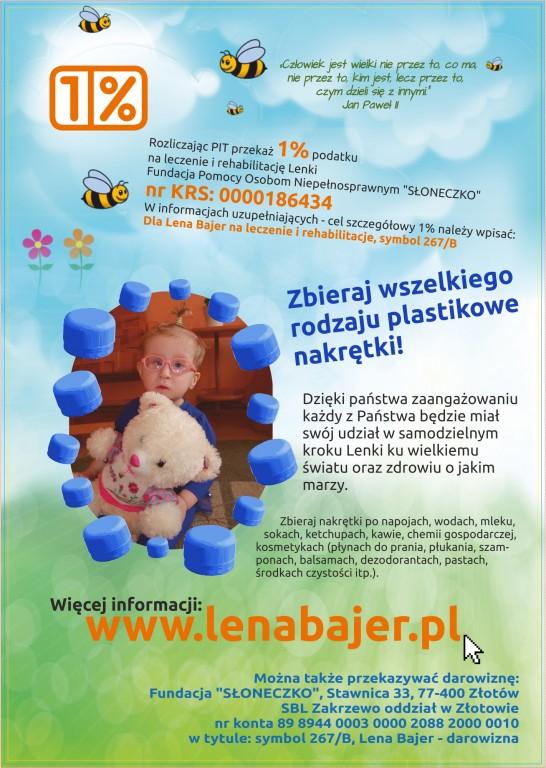 b8d112f1de027 Więcej o podopiecznej fundacji Słoneczko na stronie  https   www.lenabajer.pl